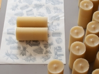 Bougie en cire d'abeille - Pure beeswax candles - Ambroise