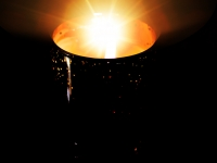 Bougie naturelle à l'ambre - Natural Amber and gold candle - Faustine