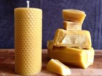 Bougies et savons en cire d'abeille naturelle