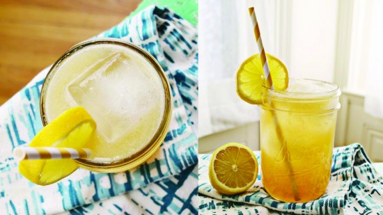 Limonade au Whiskey et Miel