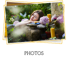 Photos de bougies et savons en cire d'abeille