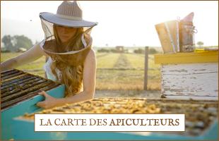 La carte des apiculteurs Apis Cera