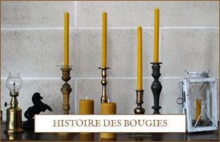 Histoire des bougies Apis Cera - candles history