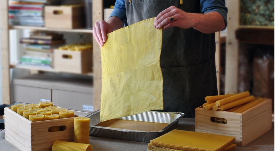 Wrap en cire d'abeille : une alternative aux emballages en plastique