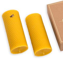 Bougies en cire d'abeille naturelle