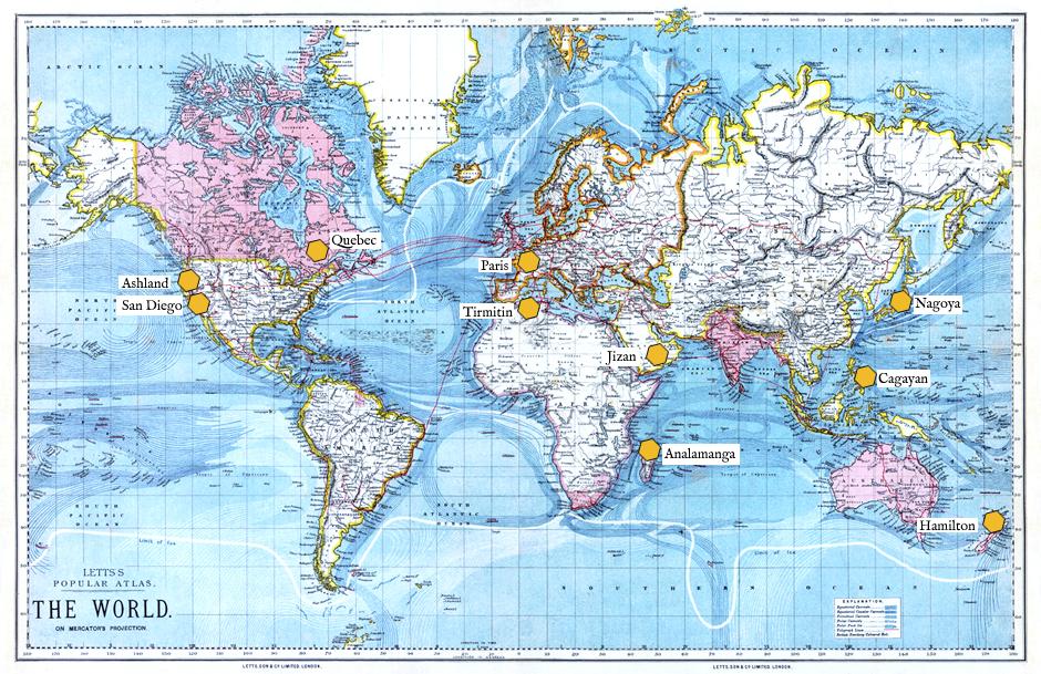 La carte des apiculteurs