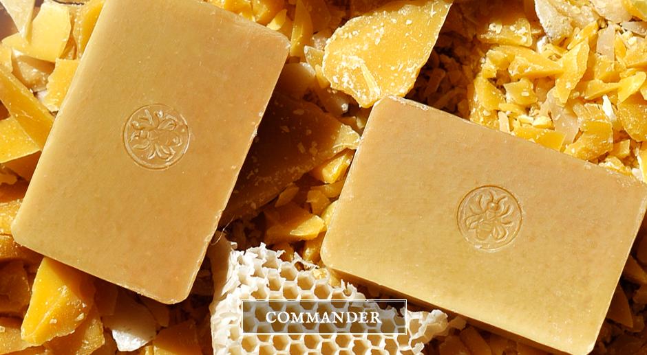 Savons bios au miel et à la cire d'abeille – Majestic